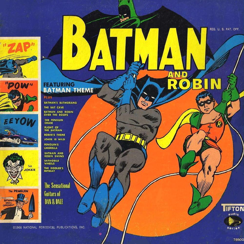 Batman And Robin The Sensational Guitars Of Dan Amp Dale